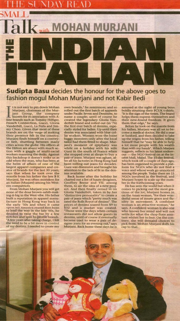 The Indian Italian - Mohan Murjani